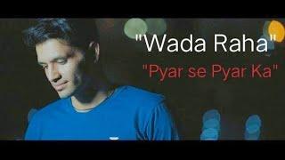 Jaana ve - wada raha   Romantic mashup   Zubin Choudhary   Arijit Singh