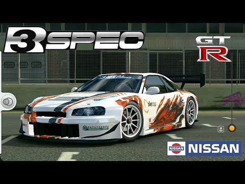 Real Racing 3   1999 Nissan Skyline GT-R (R34) R3-Spec Customization
