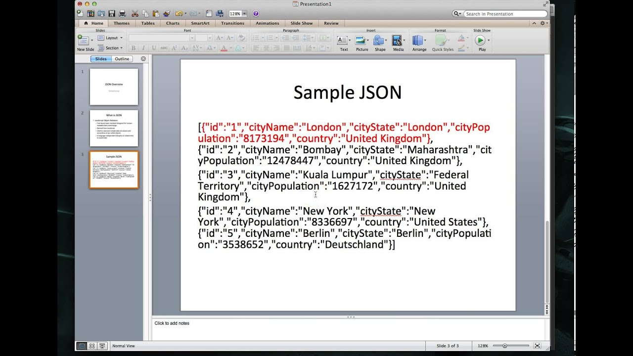 ios tutorial json part 1 loading data from an external database into your app json basics