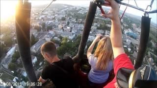 видео Політ на повітряній кулі