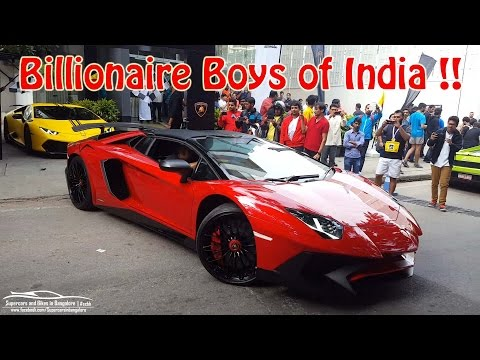 Billionaire Boys of India !!