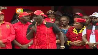 Ruto aongoza brigedi ya Jubilee katika kaunti kadhaa