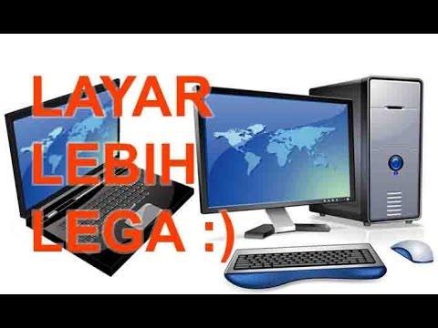 Cara Menjadikan Laptop Sebagai Monitor Kedua Youtube
