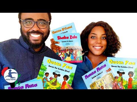 New African Kids Book Teaching a New Generation to Appreciate Heros like Shaka, Mansa & Queen Ya