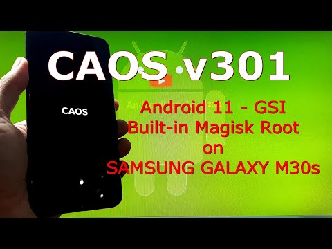 CAOS v301 Android 11 for Samsung Galaxy M30s Update: 210307 Built-in Magisk Root