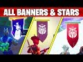 FORTNITE SEASON 8 ALL SECRET BATTLE STARS AND BANNERS  LOCATIONS WEEK 1 TO 8