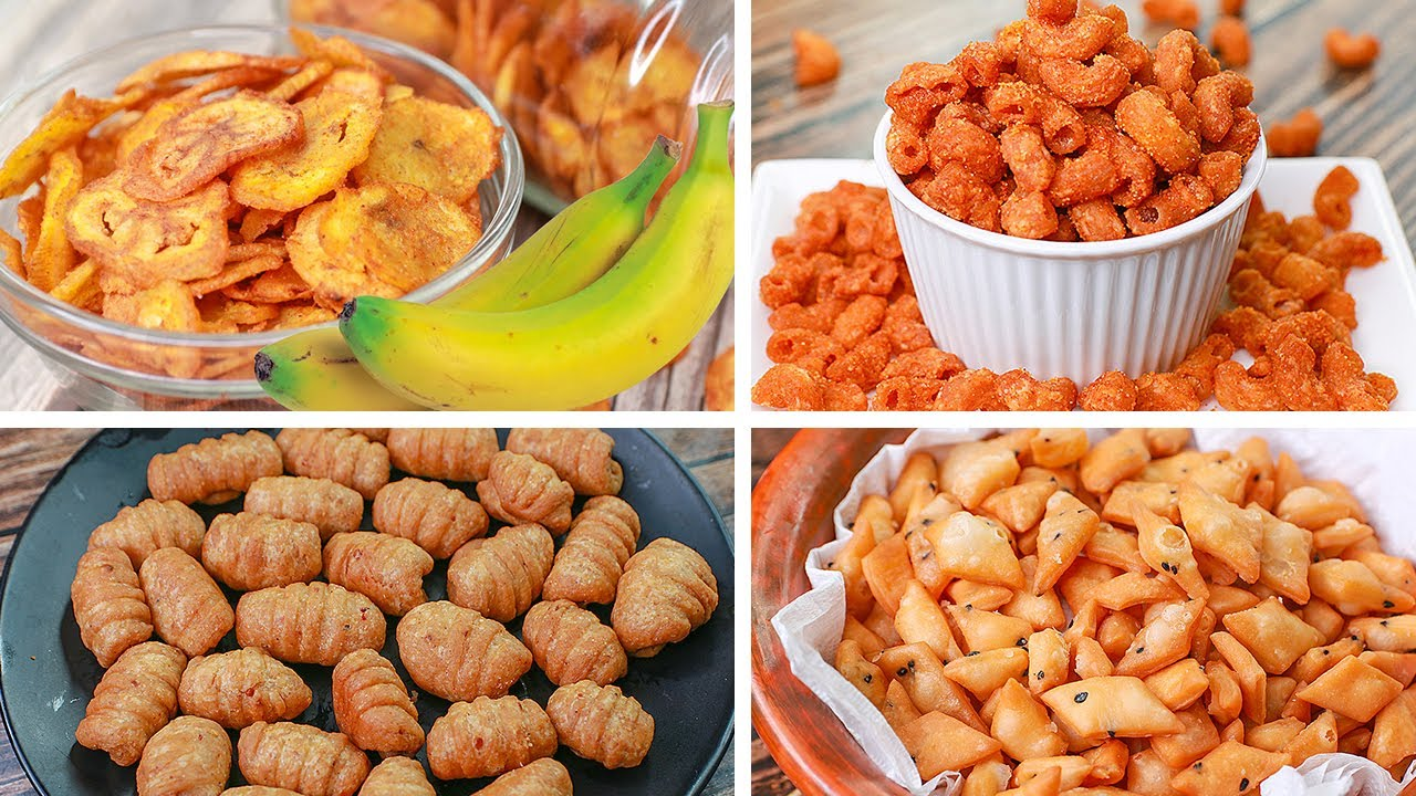4 Delicious Tea Time Snacks Recipe | Cook with Toasted