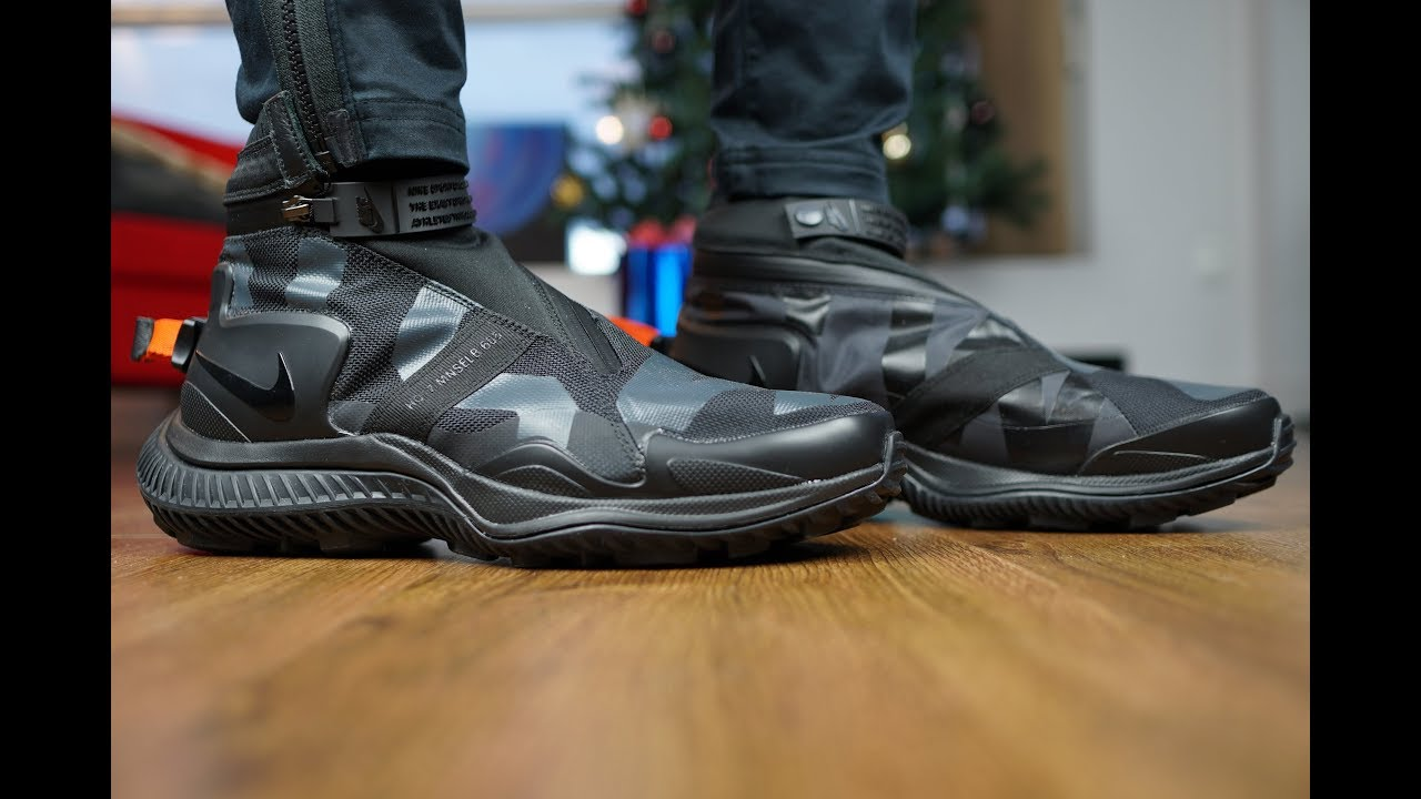 the latest 8c5c0 22360 NIKELAB ACG GAITER BOOT REVIEW + ON FEET!! DOPE!! TECH KICKS!!