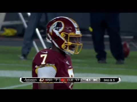 newest 9680f 7afe0 Darvin Kidsy Jr #84 WR Washington Redskins NFL First Preseason game vs  Cleveland Browns 8/8/19