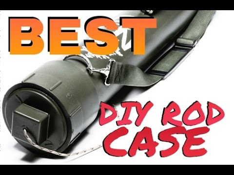 How To Make Best Diy Homemade Rod Tube Case Easy Build