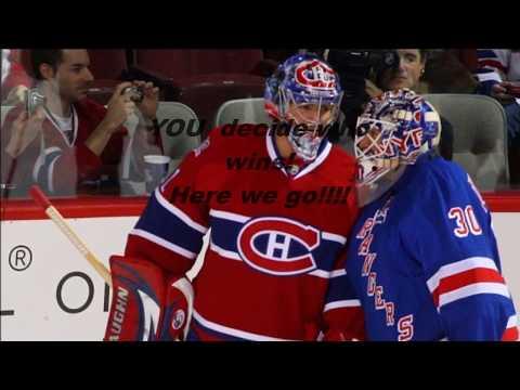 NHL Goalie Battle- Carey Price vs Henrik Lundqvist (HD) (Pt. 2)