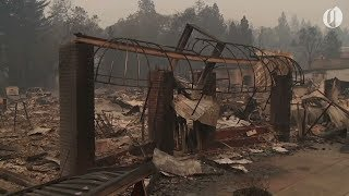 A look at the damage caused by California Camp Fire