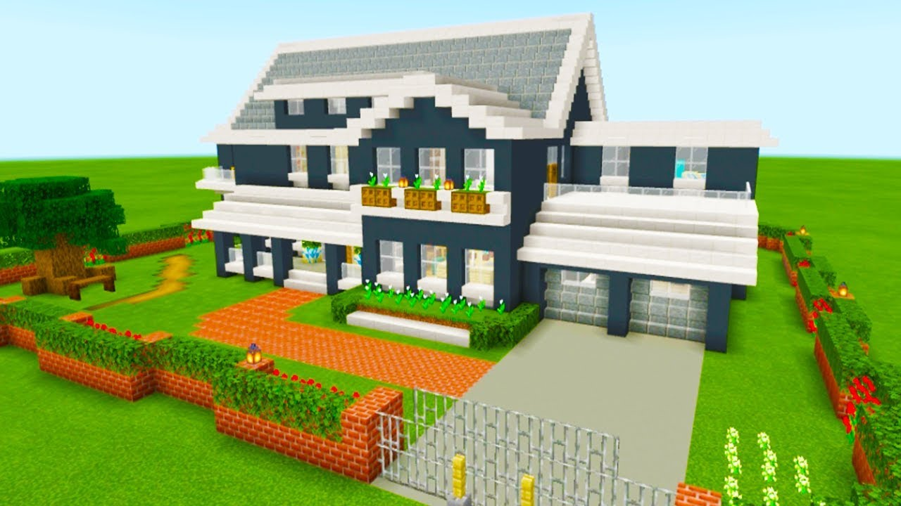 Minecraft Tutorial  How To Make A Ultimate Suburban House  U0026quot 2019 Tutorial U0026quot