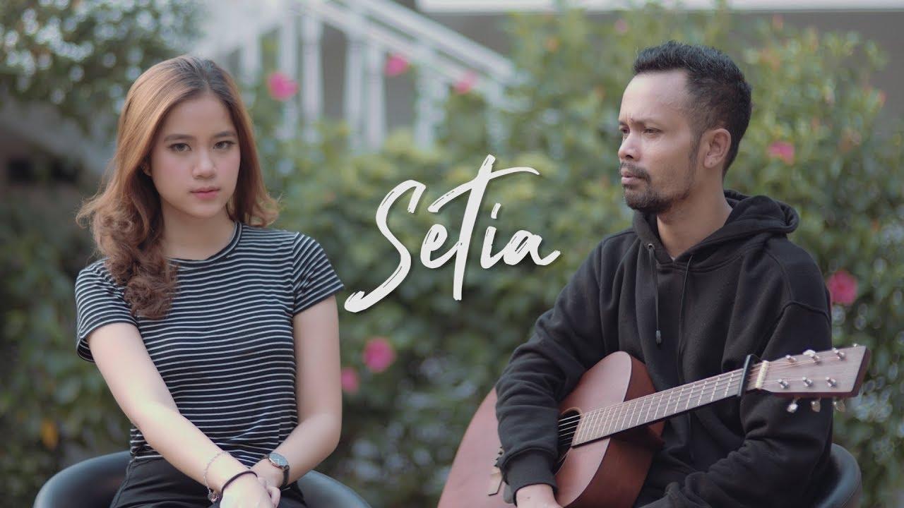 SETIA - JIKUSTIK ( Ipank Yuniar ft Patricia Lourence Cover & Lirik )
