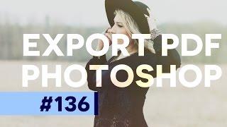 Créer une Présentation en format PDF dans Photoshop CC