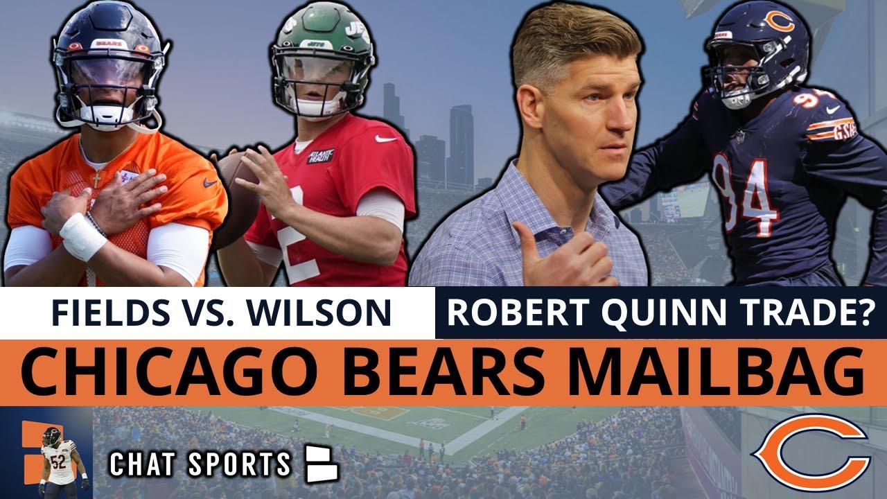 Bears Rumors Mailbag: Justin Fields vs. Zach Wilson, Robert Quinn Trade? Dazz Newsome Injury Latest?