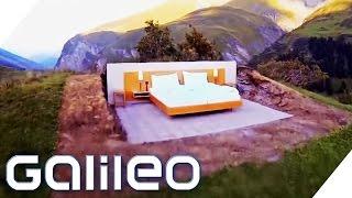 Schlafen unter Sternenhimmel - Das Schweizer Null-Sterne-Hotel | Galileo Lunch Break