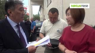 Аким Ысык-Аты назвал журналиста провокатором из-за его призывов закрыть дорогу