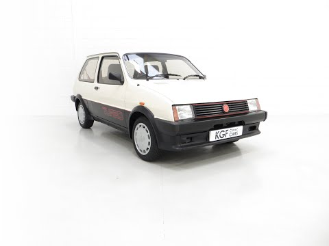 A Concours Winning Mk1 MG Metro Turbo With An Incredible 7,359 Miles From New - SOLD!