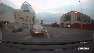 Driving in Moscow