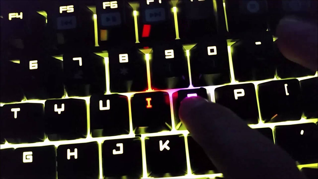 Razer Chroma Black Widow Lighting Issues - Defective Keys