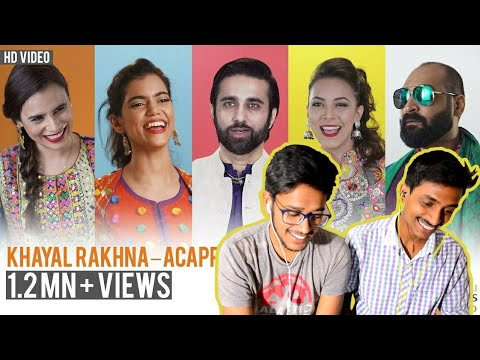 Indian Reacts To :- Khayal Rakhna - Acapella | Strepsils Stereo