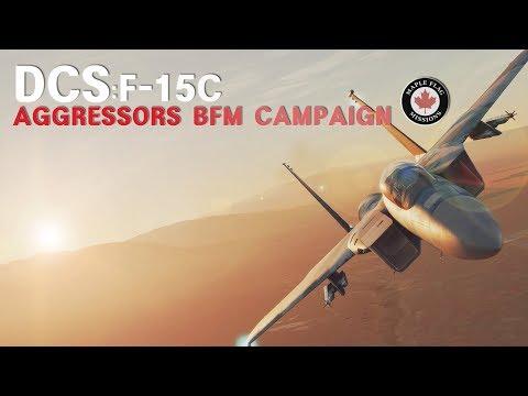 DCS: F-15C Aggressors BFM Campaign