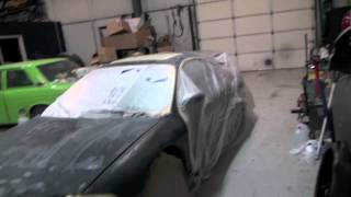 Fixing up 99 Eclipse GSX - Fixing clear coat fade and cutting and buffing