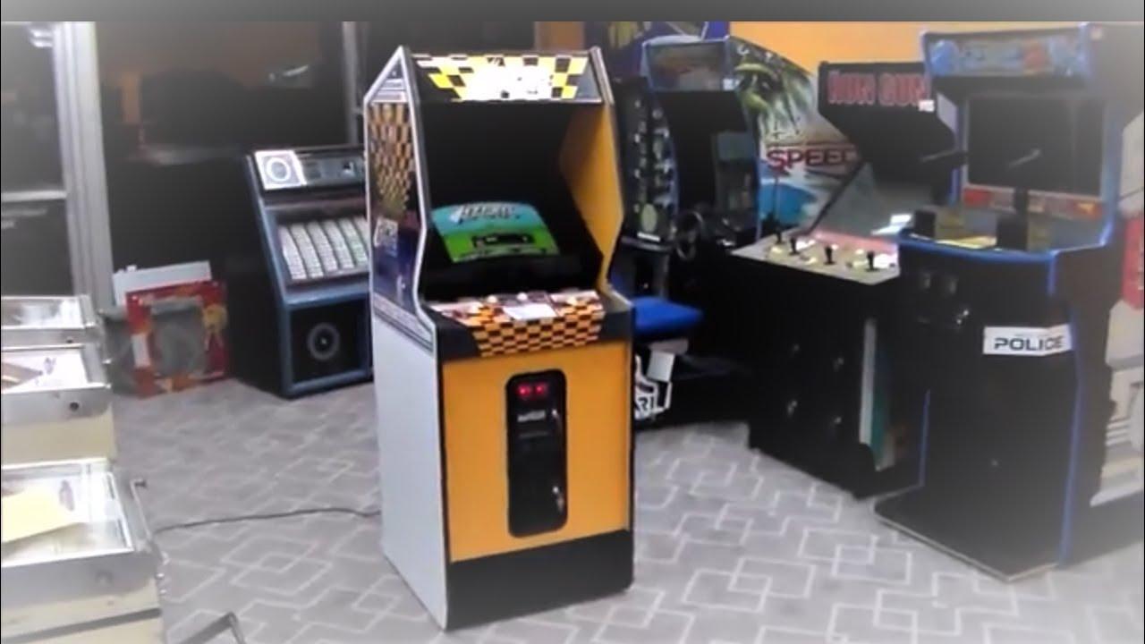 Centuri's classic Hyper Sports Track & Field Sequel Arcade Game !