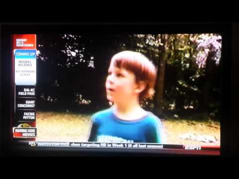 Derp face Eli Manning - even as a child.