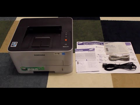 Unboxing: Samsung Printer Xpress M2835DW