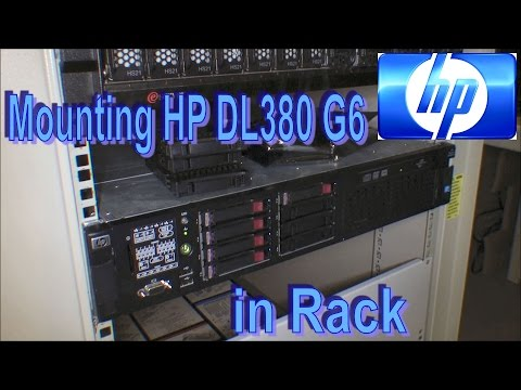 Rack mounting a HP DL380 G6 (To chek 3 HD´s) - 165