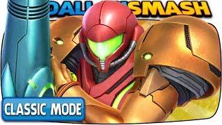 SAMUS Classic Mode 9.9 (Hardest Intensity & No Deaths) | Super Smash Bros Ultimate