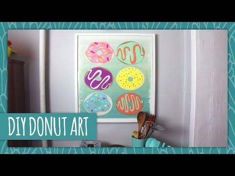 DIY Donut Wall Art - HGTV Handmade - YouTube
