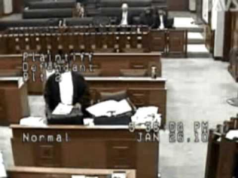 Malaysian lawyer threatening Judge