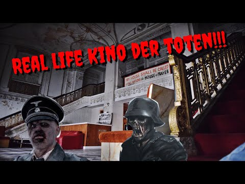 THE REAL KINO DER TOTEN NAZI ZOMBIE MAP! * Abandoned Theatre!*