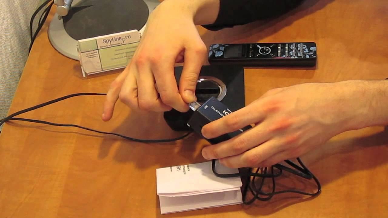 Прослушка домашнего телефона своими руками 14