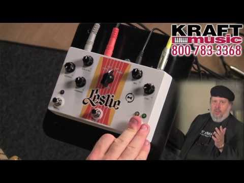 Kraft Music - Hammond Leslie Pedal Demo with Scott May and Christian Cullen