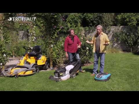 comment choisir sa tondeuse a gazon jardinerie truffaut tv