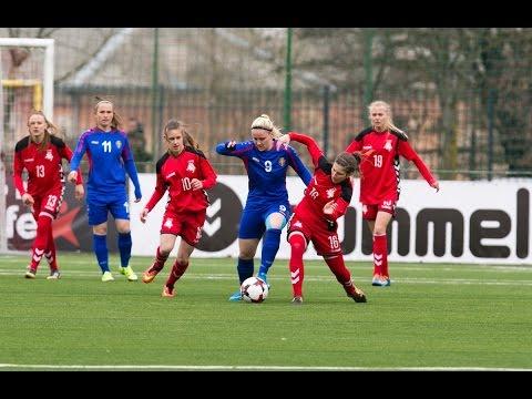 FIFA Pasaulio moterų čempionato atranka: Lietuva - Moldova (santrauka)