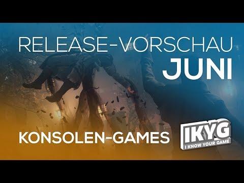 Games-Release-Vorschau - Juni 2018 - Konsole