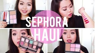 HUGE Sephora Beauty Haul + Reviews! Thumbnail