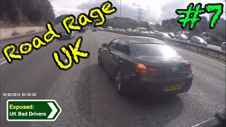 UK Bad Drivers, Road Rage, Crash Compilation #7 [2015]