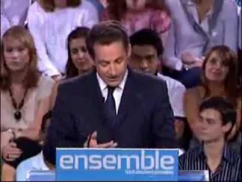 La izquierda hipocrita - Sarkozy, Discurso de Bercy 2007