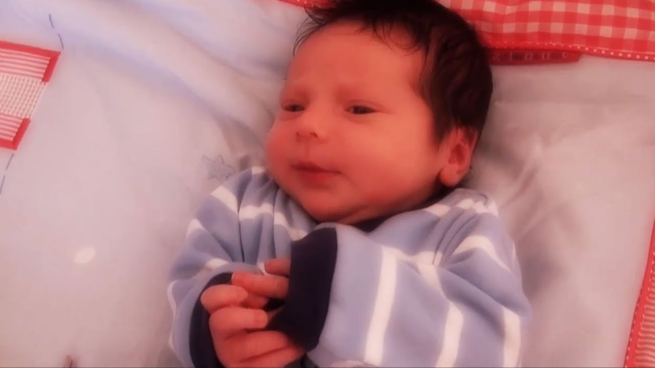 newborn baby's first day out. 1 week old baby boy. - youtube