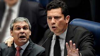➜ Sérgio Moro desmoraliza senador petista durante debate