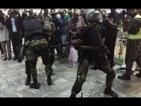 Nigerian Airforce counter terrorism simulation exercise