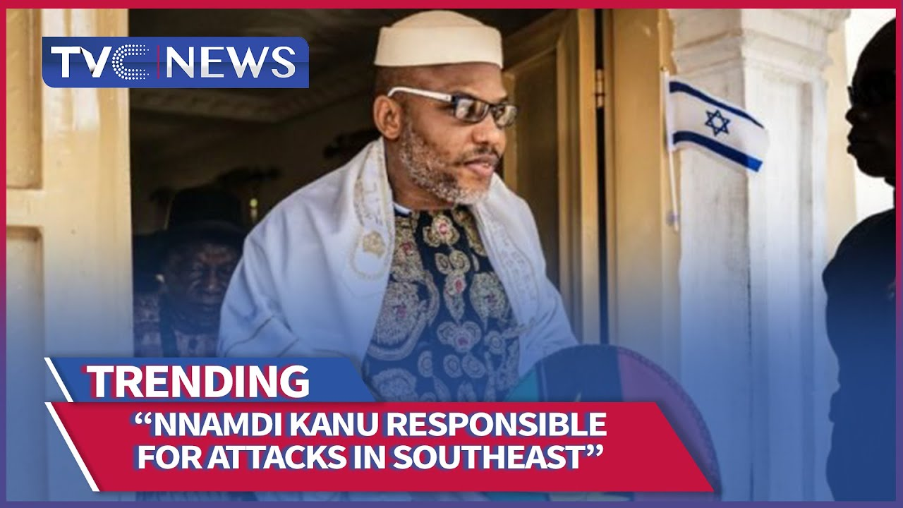 Download BREAKING | Nnamdi Kanu Responsible For Attacks In Southeast, Lawmaker Financing Sunday Igboho - AGF