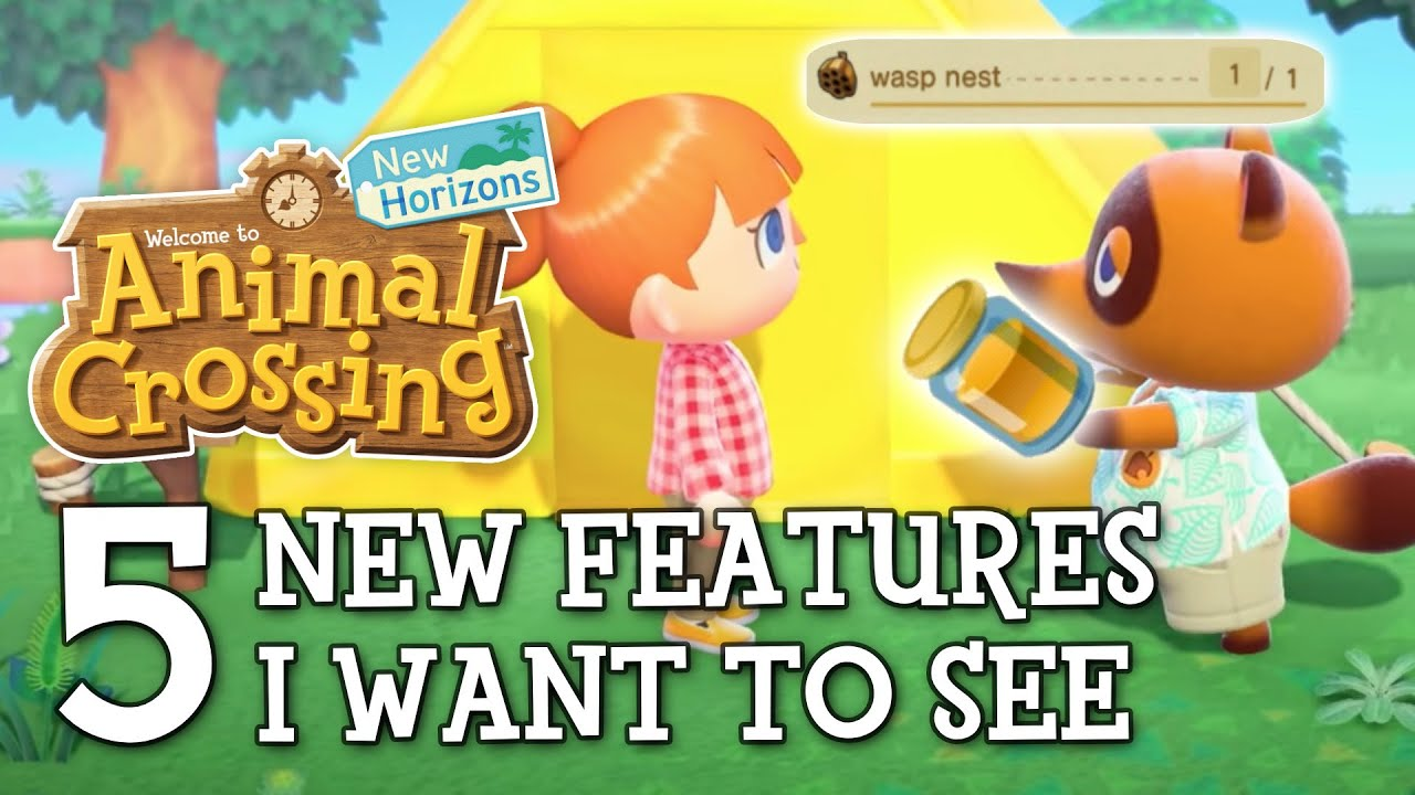 5 New Features I Want in Animal Crossing New Horizons