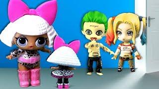 Мама в шоке от куклы лол сюрприз Николь, гости живые куклы разгромили дом. Истории игрушек dolls lol